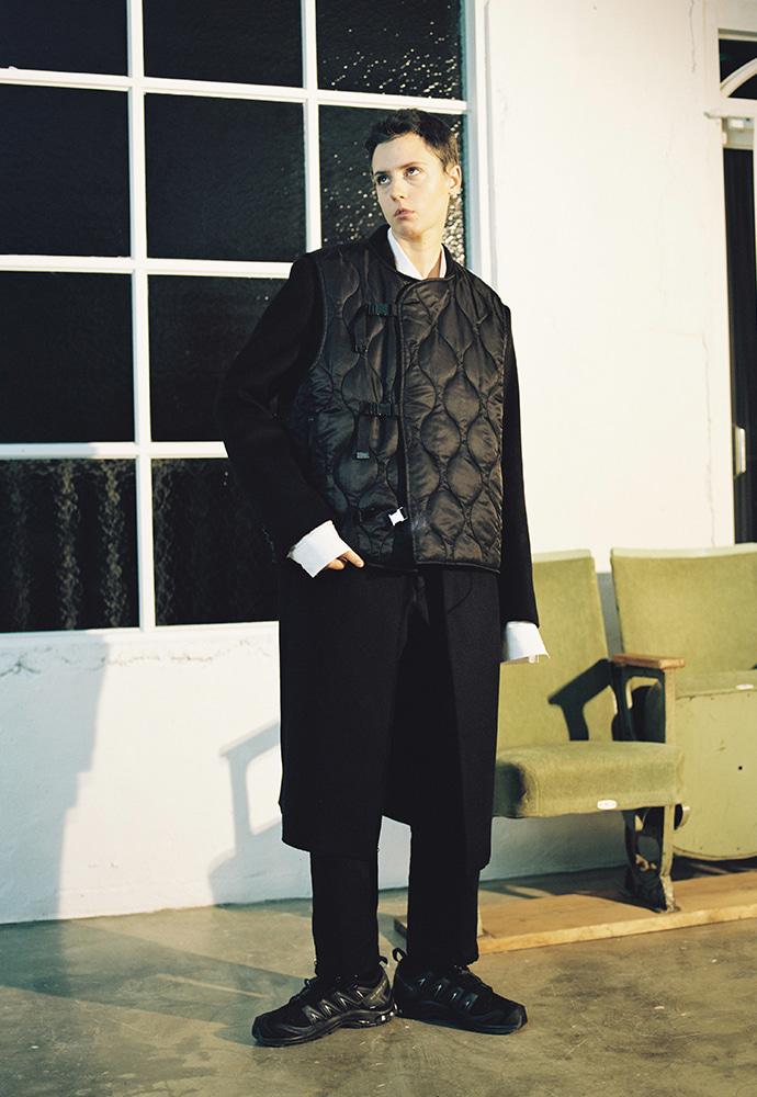아티팩츠(ARTIFACTS) UTILITY 3 Bukle QUILTING Vest_ Black